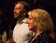 Andrew Gifford and Rose Solari