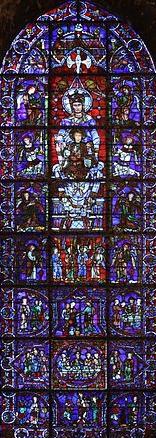 Blue Virgin Chartres --Wikipedia